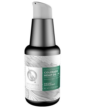 Quicksilver nanoemulsified Colorado hemp oil - 300