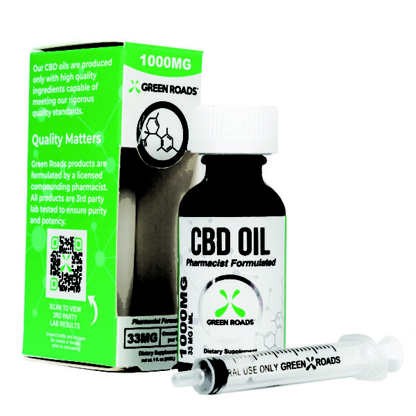 1000 mg cbd oil by green roads