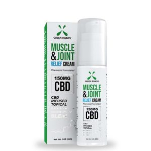 green roads 150mg soothing fast acting cooling topical CBD Cream