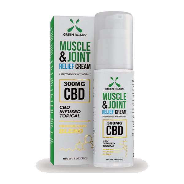 green roads theragreen (formally) fast soothing cooling hemp-derived CBD pain relief topical cream