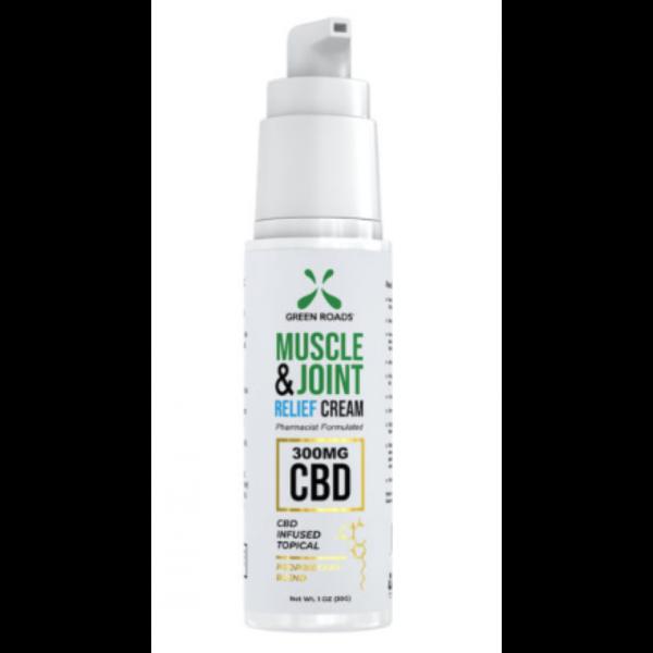 green roads 300 mg hemp derived cbd soothing pain relief cream