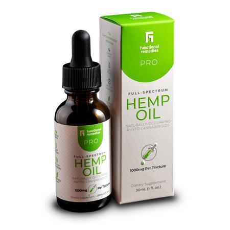 Functional Remedies Pro Hemp oil drops