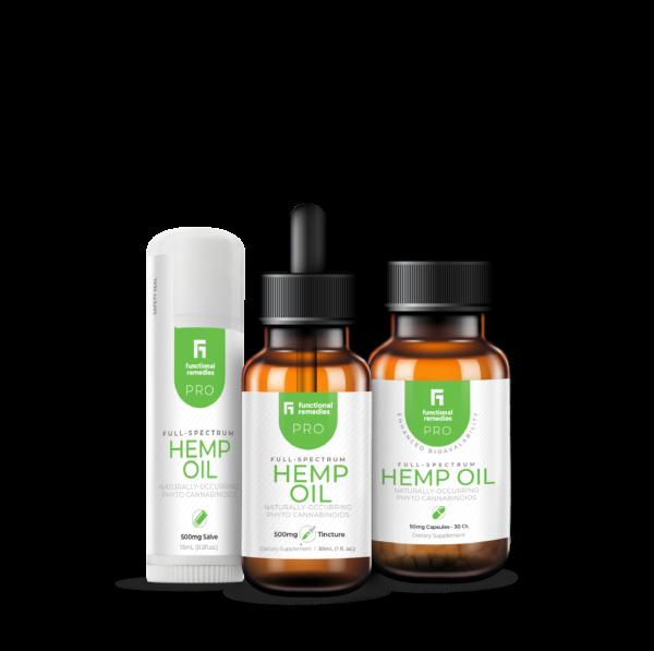 Functional Remedies Pro Line Hemp Oil