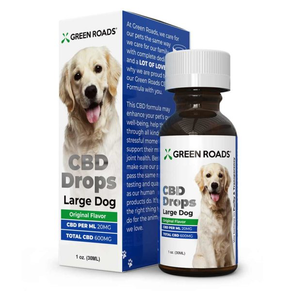 Green Road's large Dog CBD Oil Drops